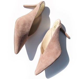 NEW! VINCE CAMUTO AMMERLEY BLUSH HEELS